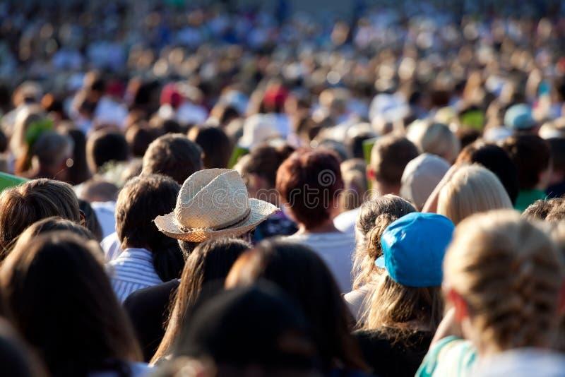 люди толпы большие стоковые фото