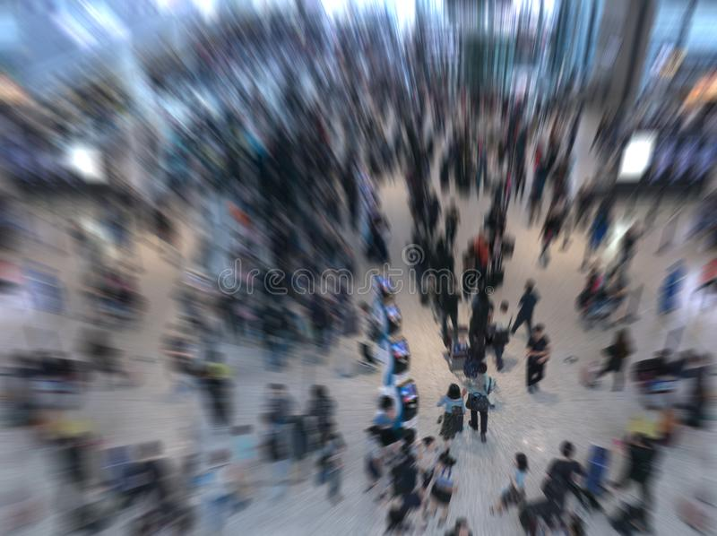 Люди толпы стоковое изображение