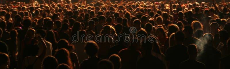 люди толпы стоковые изображения