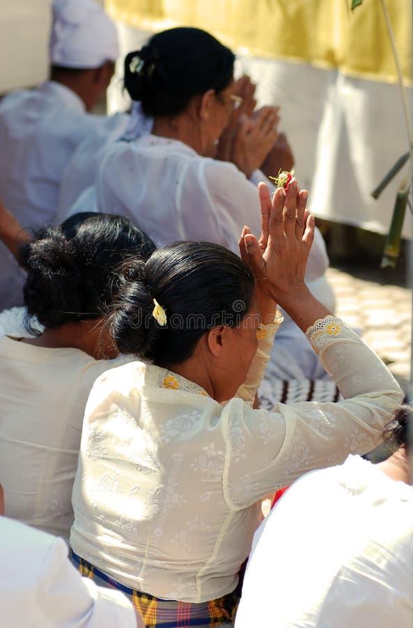 люди balinese моля стоковое изображение