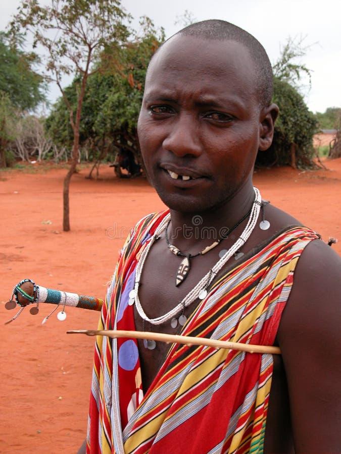 люди masai стоковые фото