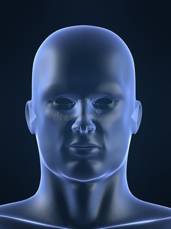 людская мыжская форма иллюстрация вектора