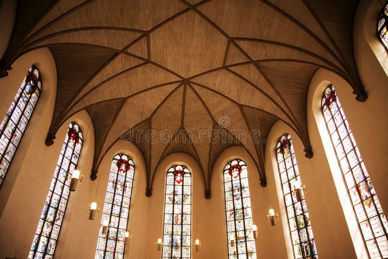 Лютеранин Katharinenkirche немца церков St Катрина стоковые изображения