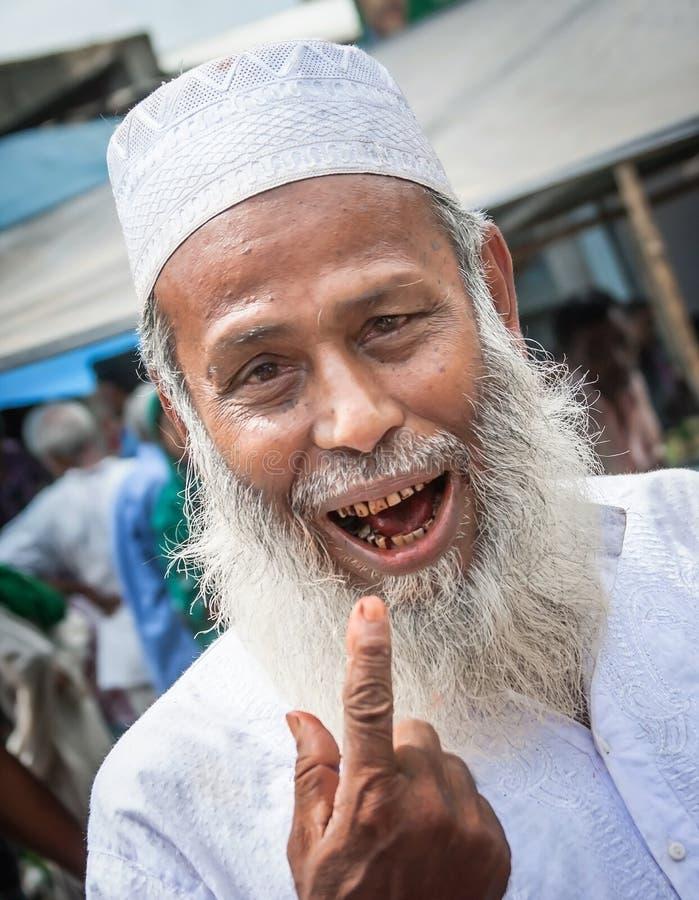 Люди Бангладеша стоковые фотографии rf