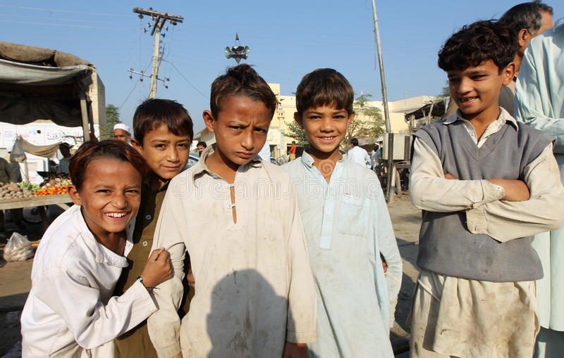 Люди в Пакистане стоковая фотография rf