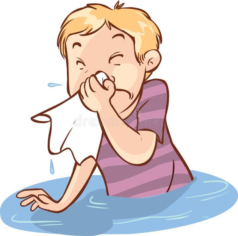 Люди жидкого носа бесплатная иллюстрация