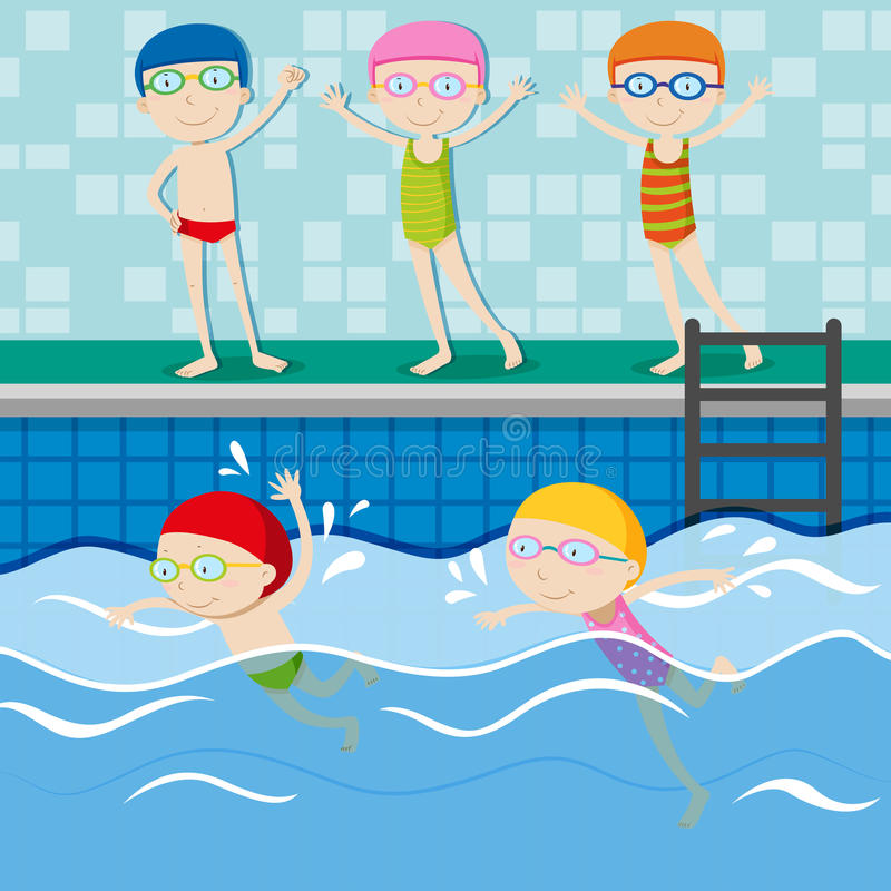 Детские картинки бассейн