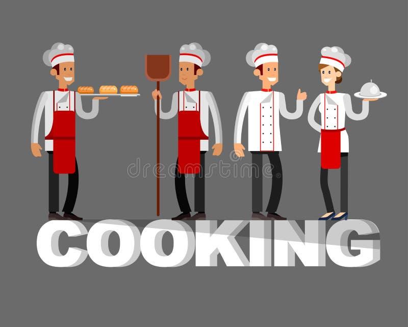 Люди характера вектора детальные в ресторане иллюстрация штока