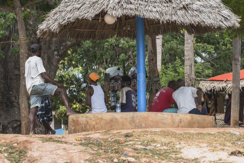 Люди Lokal в Занзибаре стоковая фотография rf