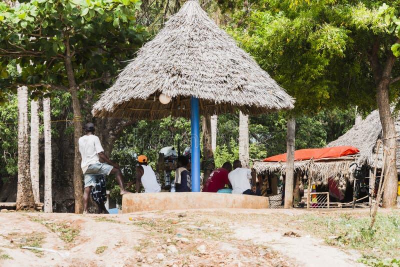 Люди Lokal в Занзибаре стоковые изображения rf