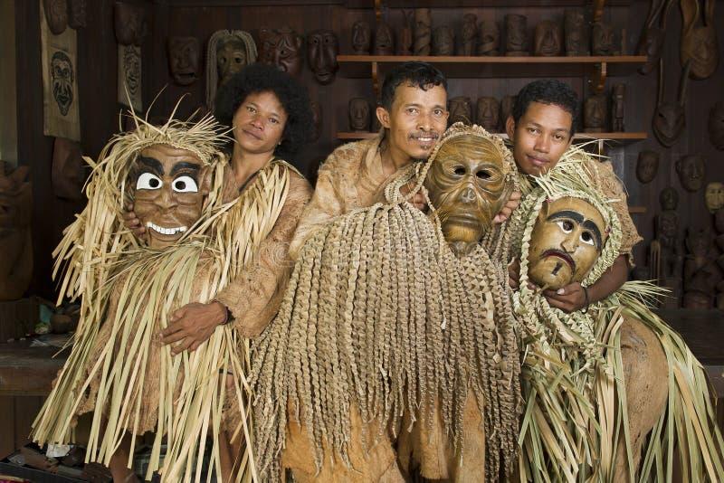Люди Mah Meri стоковая фотография rf