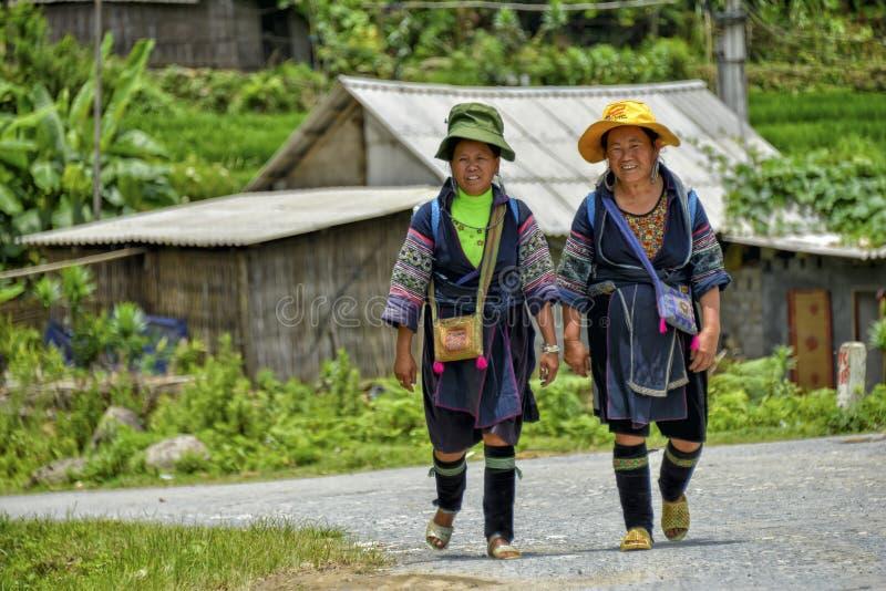 Люди PA Sa в Вьетнаме стоковое изображение rf