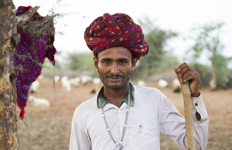 Люди Rebari стоковые фотографии rf
