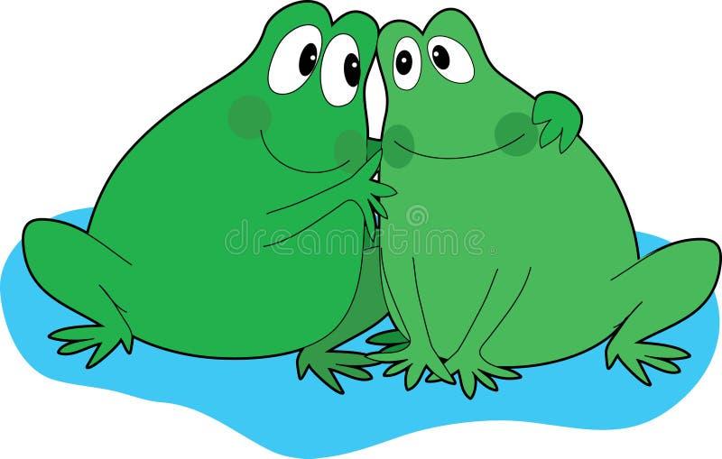 лягушка друзей бесплатная иллюстрация