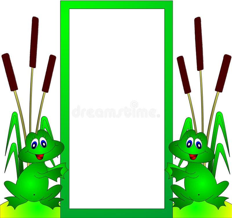лягушки fram веселые бесплатная иллюстрация