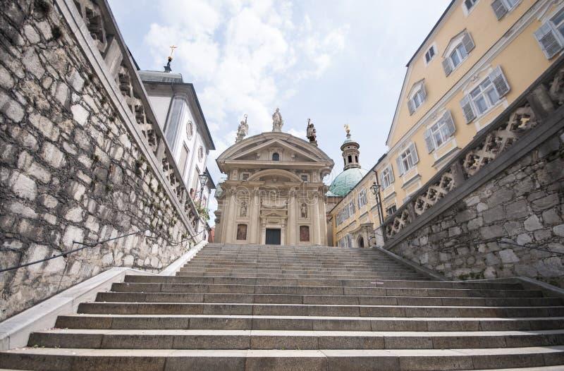 Мавзолей Австрии, Граца императора Ferdinand II стоковые изображения rf