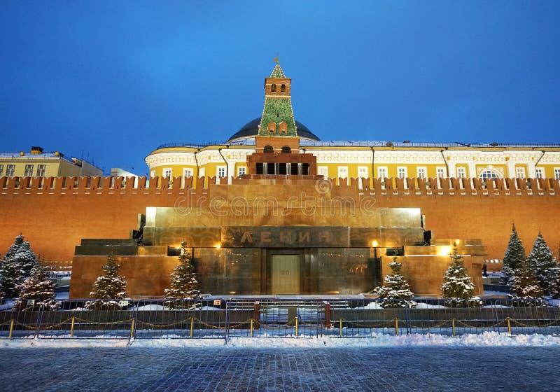 Мавзолей Ленина в Москве o стоковое фото