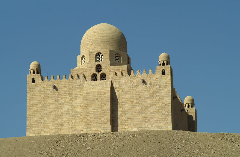 мавзолей aga khan стоковые изображения