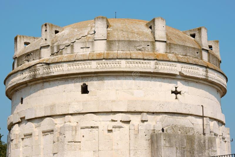 мавзолей ravenna theodoric стоковое изображение