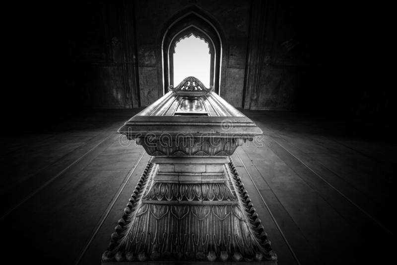 Мавзолей Safdurjung в Индии стоковое изображение rf
