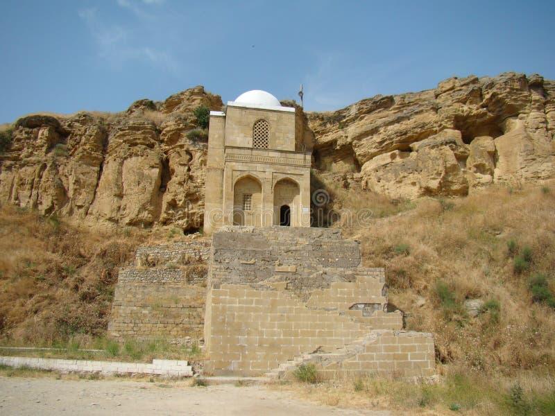 Мавзолей Бабы Diri, Азербайджан, Maraza стоковые изображения