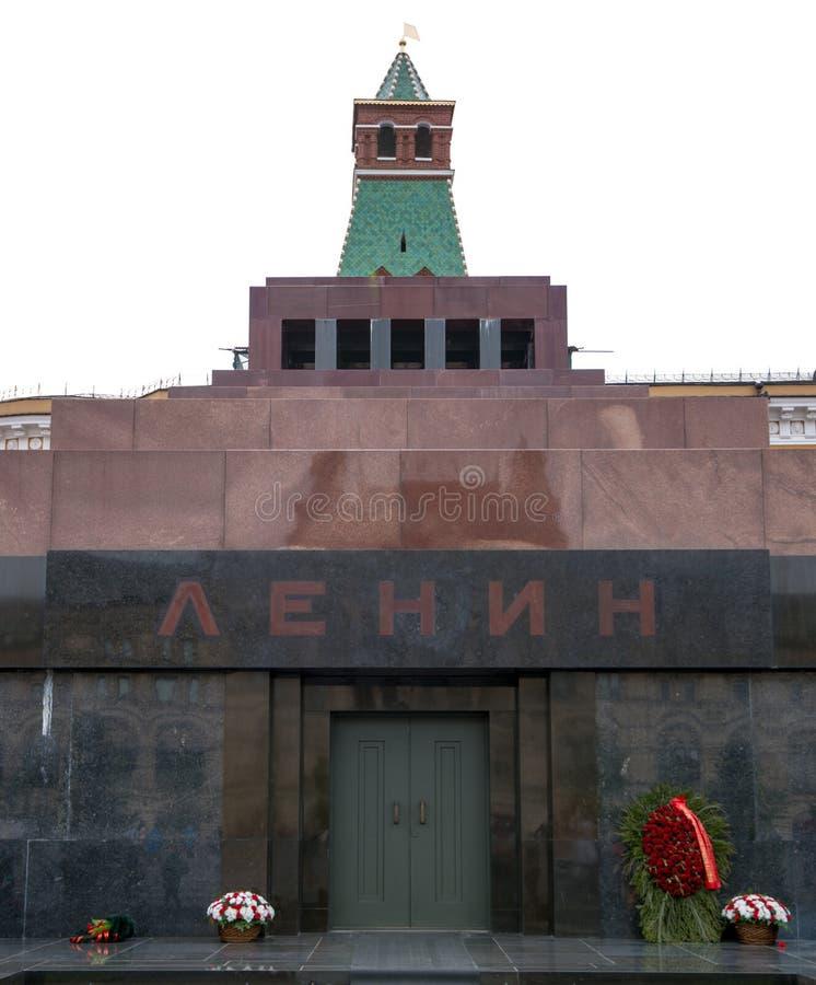 Мавзолей Ленина красной площади стоковое фото