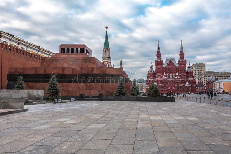 Мавзолей Ленина стоковые изображения rf