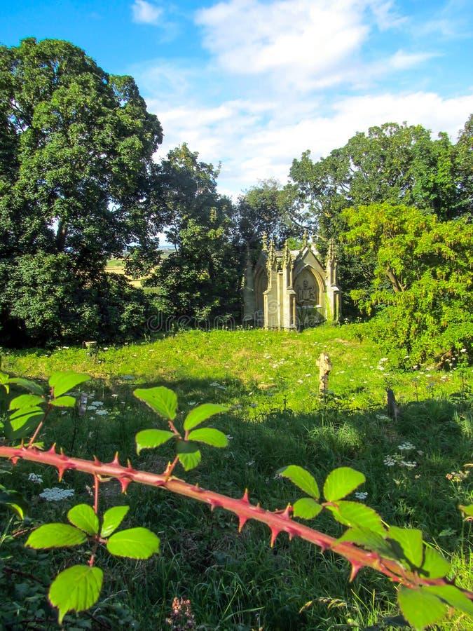 Мавзолей Уэльс Tudor готический стоковое изображение rf