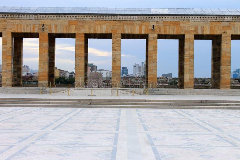 Мавзолей Anitkabir Ataturk, Анкары, Турции стоковое фото rf