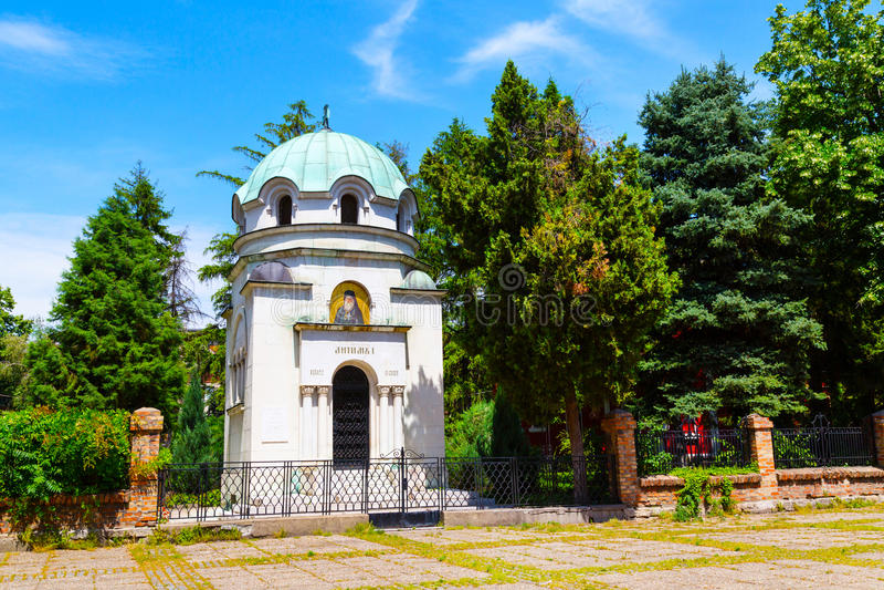Мавзолей Antim 1 в Vidin, Болгарии стоковые изображения rf