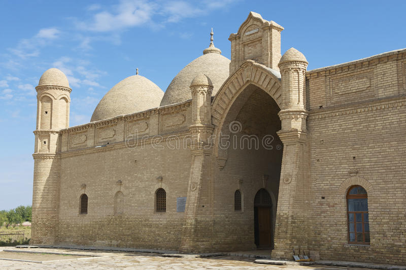Мавзолей Arystan Bab, южная провинция Казахстана, Казахстан стоковые изображения