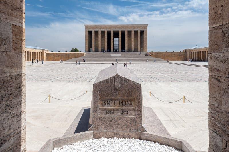 Мавзолей Анкара Ataturk стоковое изображение rf