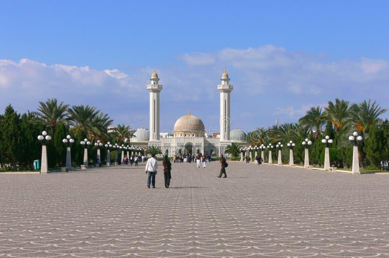 Мавзолей Habib Bourgiba стоковое изображение