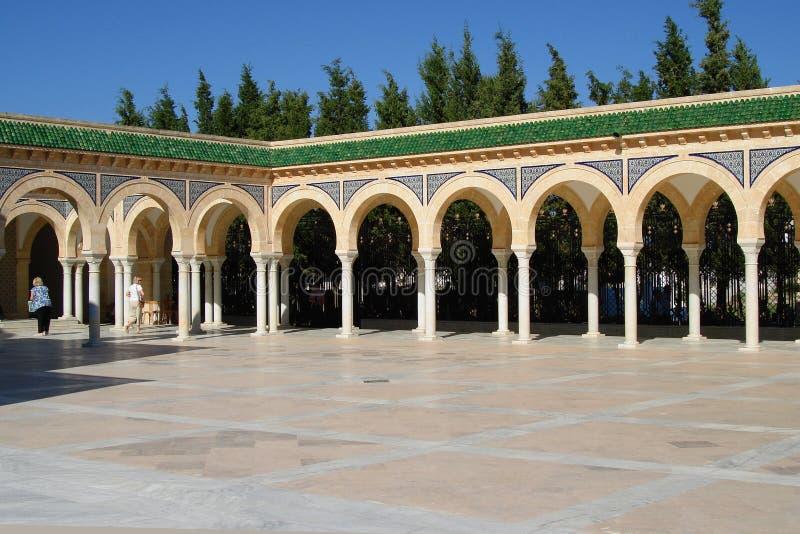 Мавзолей Habib Bourgiba стоковое фото rf