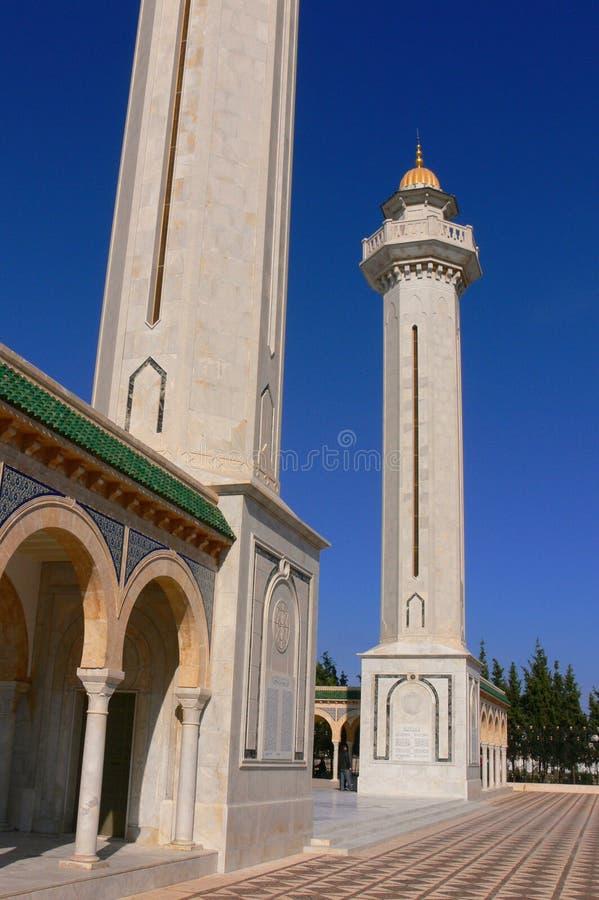 Мавзолей Habib Bourgiba стоковая фотография