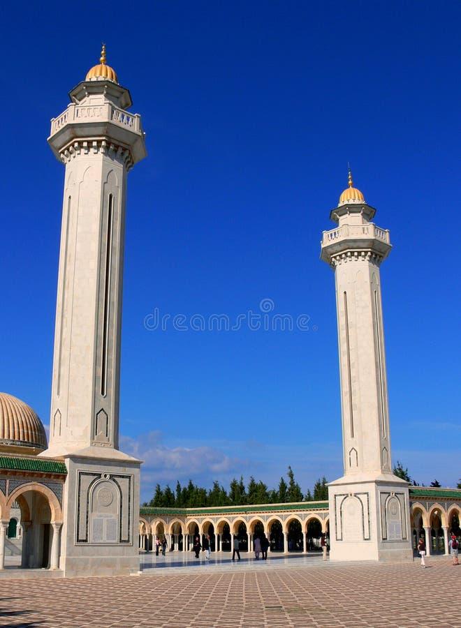 Мавзолей Habib Bourgiba стоковая фотография rf