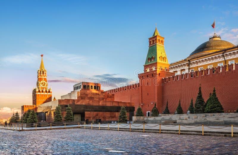 Мавзолей ` s Ленина стоковое изображение rf