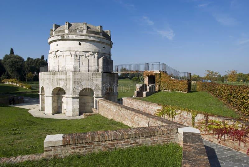 мавзолей theodoric Италия ravenna стоковые изображения rf