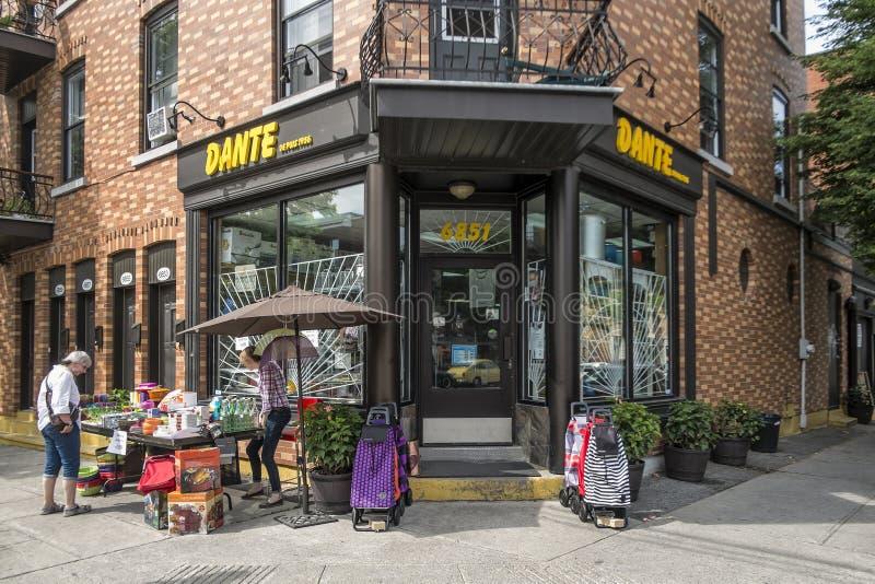 Магазины оборудования Dante стоковое фото rf