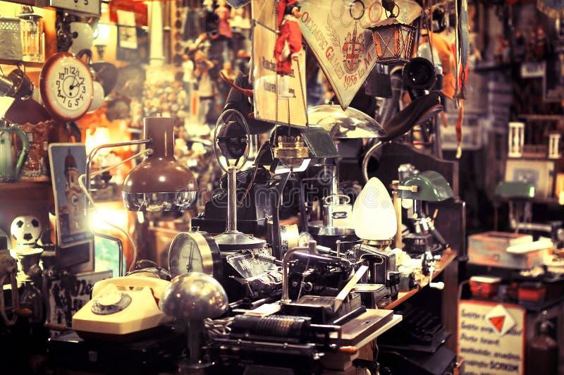 Магазин антиквариатов стоковые изображения rf
