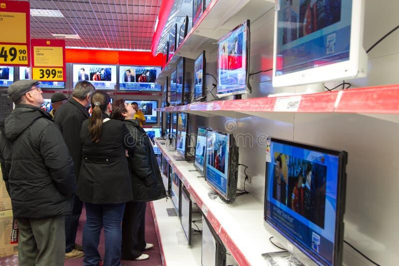 Магазин бытового устройства стоковое фото rf