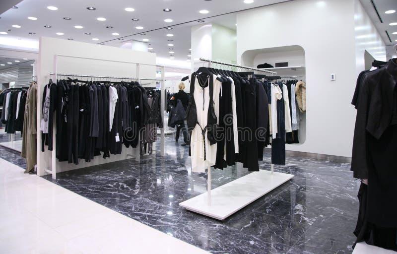 магазин веек одежд стоковые изображения rf
