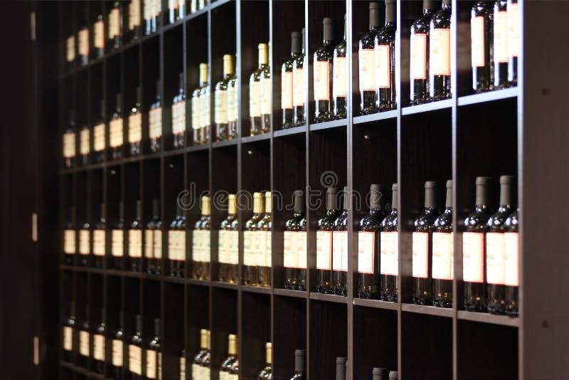 Магазин вина стоковое фото rf