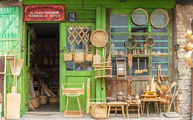 Магазин в сараеве стоковое изображение rf