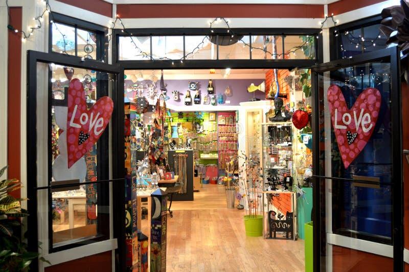магазин влюбленности к стоковые фото
