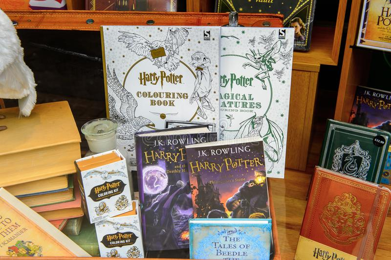Магазин Гарри Поттера стоковое фото rf