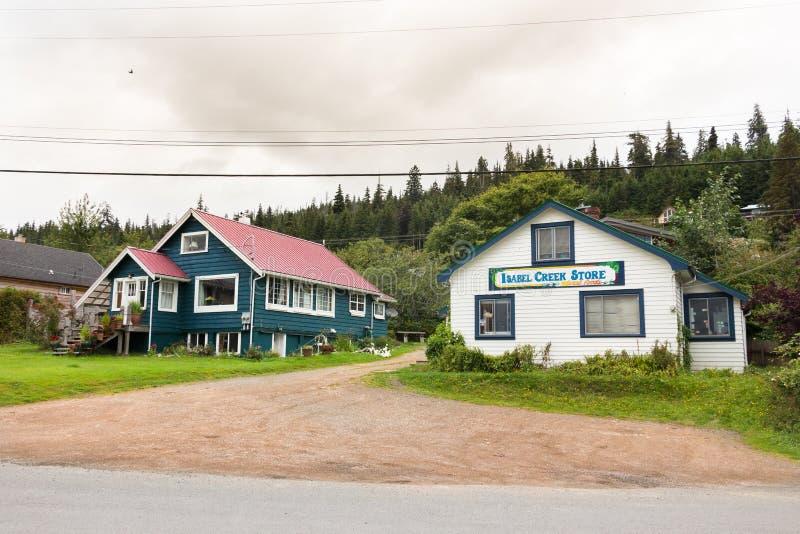 Магазин заводи Изабеллы в ферзе Шарлотте, ДО РОЖДЕСТВА ХРИСТОВА, Канада стоковая фотография rf
