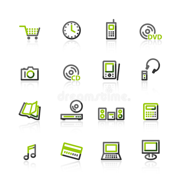 магазин икон e серый зеленый