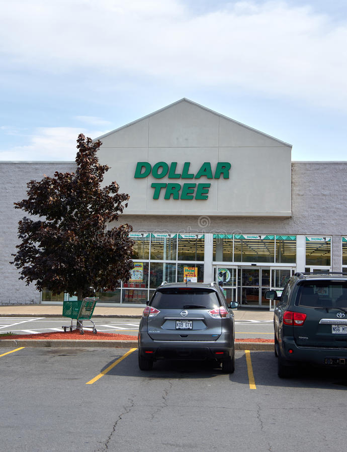 Магазин и знак дерева доллара стоковое изображение