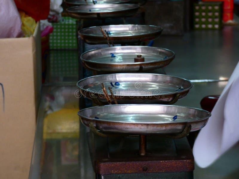 Магазин китайской медицины Бангкока Таиланда стоковое изображение